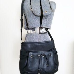 Cole Haan Bags - Cole Hann Black Leather Purse Adjustable Strap